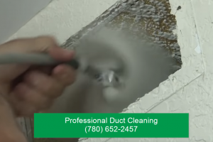 Duct Cleaning with Angel Brush